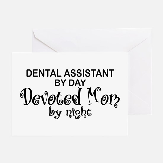 Dental Asst Devoted Mom Greeting Cards (Pk of 10)