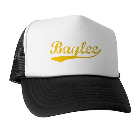 Vintage Baylee (Orange) Trucker Hat