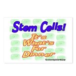 Stem Cells! It's What's For D Postcards (Package o