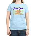 Stem Cells! It's What's For D Women's Pink T-Shirt