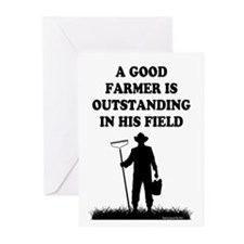 Good Farmer 1 Greeting Cards (Pk of 20)