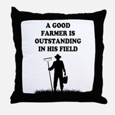 Good Farmer 1 Throw Pillow