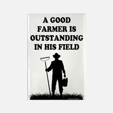 Good Farmer 1 Rectangle Magnet (100 pack)