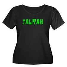 Jaliyah Faded (Green) T