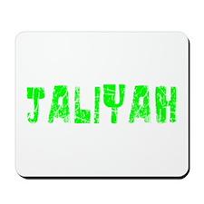 Jaliyah Faded (Green) Mousepad