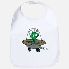 Alien Space Creature Tshirts and Gifts Bib