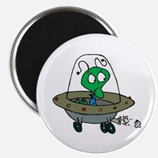 Alien Space Creature Tshirts and Gifts Magnet