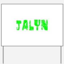 Jalyn Faded (Green) Yard Sign