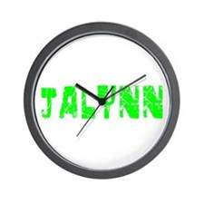 Jalynn Faded (Green) Wall Clock