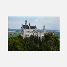 KING LUDWIG'S CASTLE RECTANGLE MAGNET