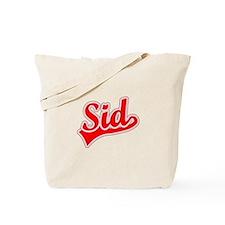 Retro Sid (Red) Tote Bag