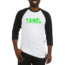 Jamel Faded (Green) Baseball Jersey