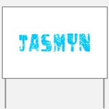 Jasmyn Faded (Blue) Yard Sign