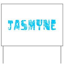 Jasmyne Faded (Blue) Yard Sign