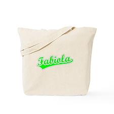Retro Fabiola (Green) Tote Bag