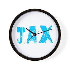 Jax Faded (Blue) Wall Clock