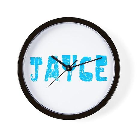 Jayce Faded (Blue) Wall Clock
