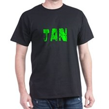 Jan Faded (Green) T-Shirt