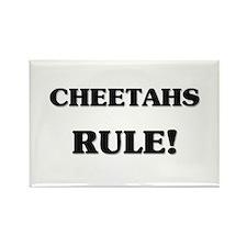 Cheetahs Rule Rectangle Magnet