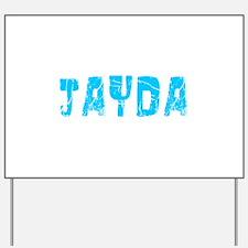 Jayda Faded (Blue) Yard Sign