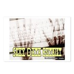 Sexy Data Entrist Postcards (Package of 8)