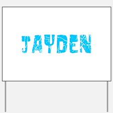 Jayden Faded (Blue) Yard Sign