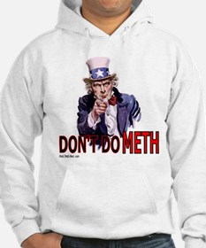 "Uncle Sam Says, ""DON'T DO MET Hoodie"