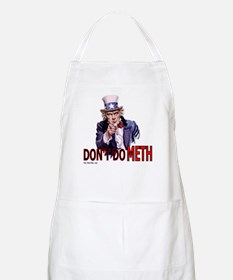 """Uncle Sam Says, """"DON'T DO MET BBQ Apron"""