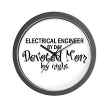 Electrical Engineer Devoted Mom Wall Clock