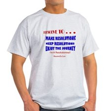 Funny New year resolution T-Shirt