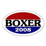 Boxer 2008 (oval bumper sticker)
