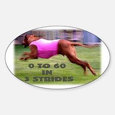 Fast Ridgeback Oval Decal