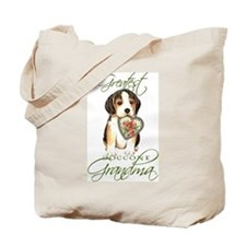 Beagle Grandma Tote Bag