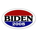 Joe Biden 2008 Oval Sticker
