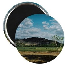 Oenpelli, Arnhem Land NT Round Magnet