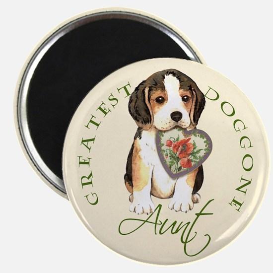 Beagle Aunt Magnet