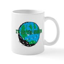 I'm On The Green Mug