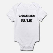 Canaries Rule Infant Bodysuit
