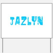 Jazlyn Faded (Blue) Yard Sign