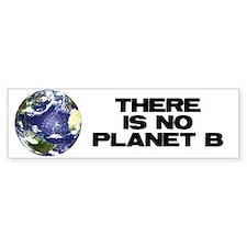 No Planet B Bumper Car Sticker