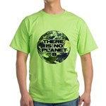 No Planet B Green T-Shirt
