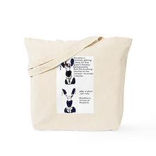 Blackberry Rabbitt's costume Tote Bag