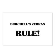 Burchell's Zebras Rule Postcards (Package of 8)