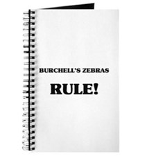 Burchell's Zebras Rule Journal