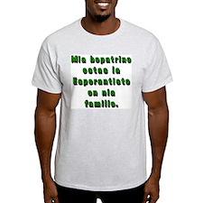 Esperantist mother in law T-Shirt