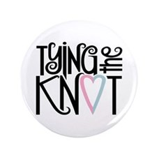 "Tying the Knot 3.5"" Button (100 pack)"