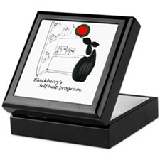 Blackerry Rabbitts self help Keepsake Box