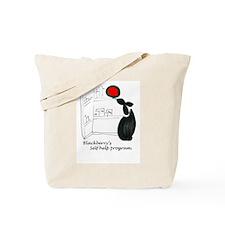 Blackerry Rabbitts self help Tote Bag