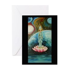 QUAN YIN Blank Greeting Cards (Pk of 10)