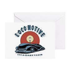 Loco Motive Greeting Cards (Pk of 10)